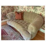 Tufted Back Rolled Arm Sofa