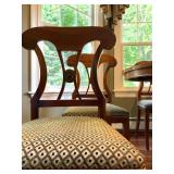 Medallion Back Side Chairs, Set of FIVE