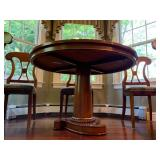 Bolier and Company Center Table with Center Medallion