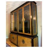 Chinoiserie Style Dining Set, China Hutch