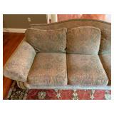 Ethan Allen Nailhead Trim Three Seat Sofa