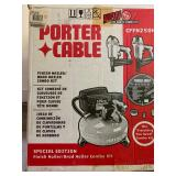 Porter Cable Finish Nailer and Brad Nailer Combo Kit with Compressor