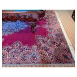 44. Center Medallion Rug, Hand Knotted, 100% Wool, 12