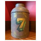 """37. Antique Style Jug with """"Seven"""", 20""""h, aged for decoration"""