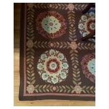 43. Abusson Needle Point Rug, 14