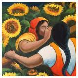 Sunflower Whisper, Signed Duford