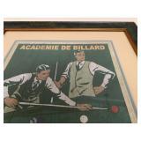 Billiard Prints
