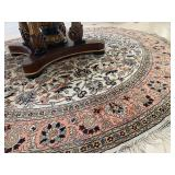 Round Indian Area Rug