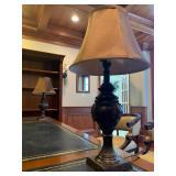 Urn Lamps, Pair