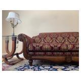 Clayton Marcus Rolled Arm Sofa, PAIR