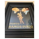Vintage Style Wine Print