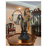 Dale Tiffany Lamps, Pair Available