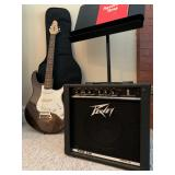 Peavey Raptor Plus Guitar, Peavey Rage 158