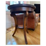 Round Accent Table, Pair