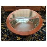 Glass Inset Coffee Table