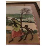 Original Watercolor, Signed