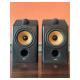SHOP NOW @ HuntEstateSales.com! B&W CDM 1 Bookshelf Speakers, Pair