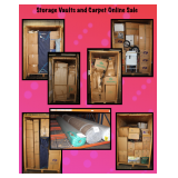 STORAGE VAULTS AND CARPET EVENT