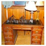 Leather Top Desk/
