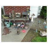 bird houses, yard art