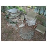 yard decor stones