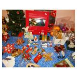 many fine holiday vintage decorations