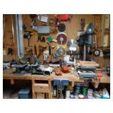 full woodworking shop tools