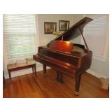 Historic Guthrie Sale with Yamaha Grand Piano by James Bean Estate Sales