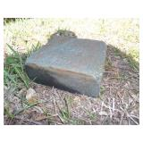 "3"" thick stone"