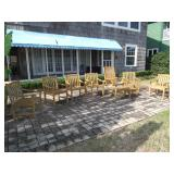 teakwood patio furniture