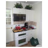 cabinets, appliances, kitchen