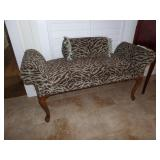 fine upholstered bench