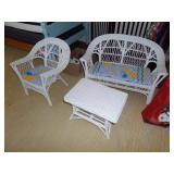 kids wicker set