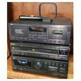 vintage electronics - Yamaha, JVC, Sony