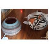 southwest pottery - Susie Charlie & Frances Concho