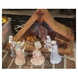 Lefton Sevilla nativity