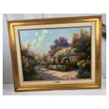 ONLINE AUCTION! ART, COLLECTIBLES! 20+ SIGNED THOMAS KINKADE PAINTINGS, 300+ LILLIPUT LANE COTTAGES