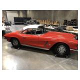 LIVE ROCK AND ROLL AUCTION! 1962 CORVETTE FUELIE 200 GUITARS AND LUDWIG DRUMS, MUSICAL INSTRUMENTS