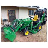 John Deere Tractor ! Trailers Conex Box Tools Generator