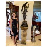 !THE AUCTION! Bronzes, Museum Limoge Vases, Lalique, Designer Furniture, MERCEDES SUV, Grand Piano