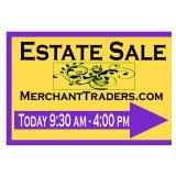 75% Off!  Merchant Traders Estate Sales Presents: Wheaton Beauty & Collectibles!