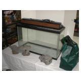 30 gallon fish tank and accessories