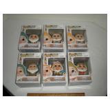 Seven Dwarfs pop figures