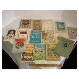 Vintage health booklets