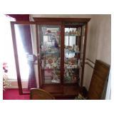 Amazing lighted curio cabinet