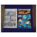 Vintage Batman comics