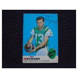 Don Maynard Jets signed