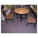 Chinese Chippendale dinette set