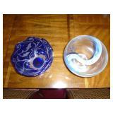 Lenox art glass bowls