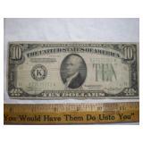 1934 US $10 bill